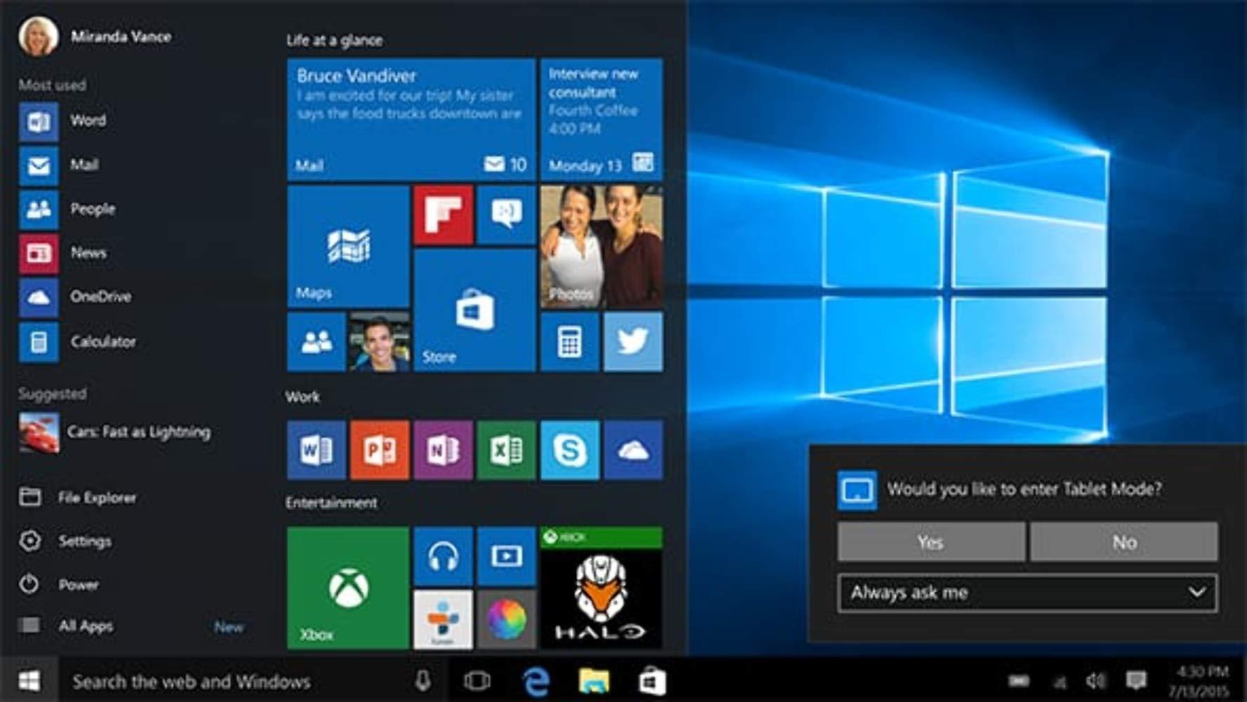 Microsoft Windows 10 Pro 32/64 Bits Clave Licencia 100% Genuina WIN 10, Multilenguaje: Amazon.es: Electrónica