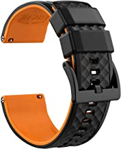 Ritche Silicone Watch Bands 18mm 20mm 22mm Quick Release Rubber Watch Bands for Men Women