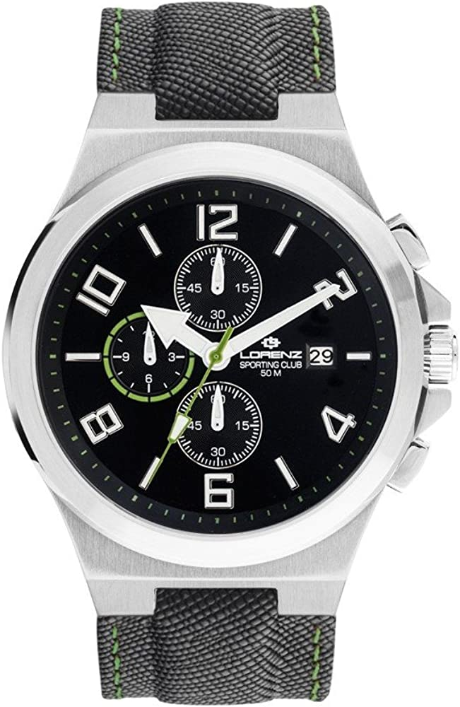 Lorenz 030015CC Reloj de pulsera para hombre