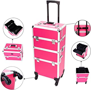 Best makeup suitcase with wheels Reviews