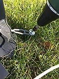 EisenRon Camping Set 10x300 mm - 10 Stück Schraubheringe für Zeltbefestigung mit Bit - 3