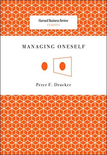 Managing Oneself (Harvard Business Review Classics) (English ...