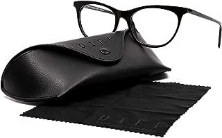 DIFF Charitable Eyewear - Jade - Designer UV400 Blue Light Blocking Glasses
