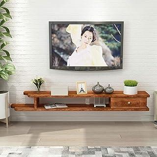 Stand de fleurs Étagère Étagère rangement Étagère flottante Tablette de rangement en bois for fond de meuble en bois avec ...