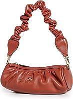 MANU Atelier Women's Ruched Mini Cylinder XX Shoulder Bag