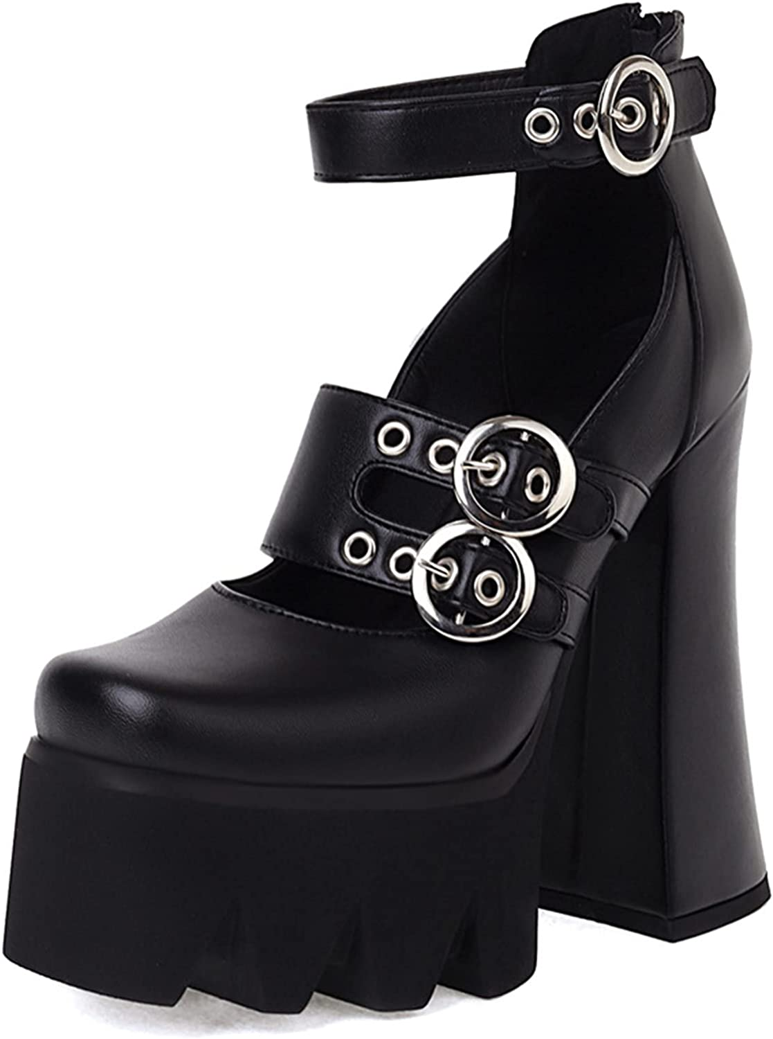 SaraIris Special price for a limited time Women's Regular discount Platform High Heel Pumps Jane Mary Goth P Shoes