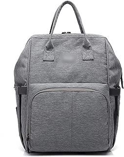 Daypacks Multifunctional Waterproof Backpack Large Capacity Backpack Womens Backpack (Color : Gray)