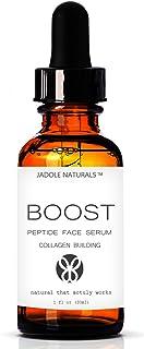 Jadole Naturals Peptide Complex Serum Anti Aging Serum Anti Wrinkle Skin Care Advanced Delivery Facial Skin Care. Plump, S...