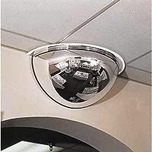 See All PV18-180 Panaramic Full Dome Plexiglas Security Mirror, 180 Degree Viewing Angle, 18