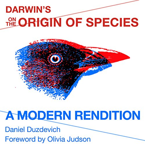"Darwin's ""On the Origin of Species"" audiobook cover art"