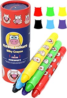 Toddler Toys MeteorShower Safety and Non-Toxic Crayons Gift Kids/' Crayons 10 Colors Bear Crayons Painting Pencil Sticks Washable for Toddlers,Kids,Children,Boy and Girls Crayons for Toddlers