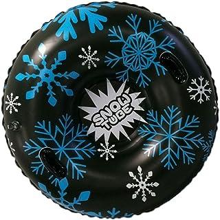 Sneeuwbuis, Heavy Duty Opblaasbare Winter Sneeuwslee Ringen Met Handvatten, Skiën Cirkel Voor Kinderen Volwassenen, Winter...