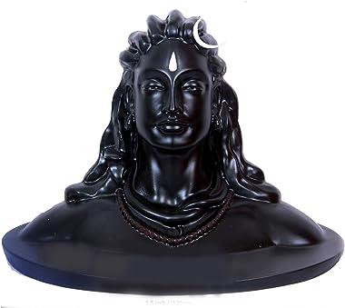Nantan Adiyogi Shiva Statue for Car Dash Board, Pooja & Gift, Mahadev Murti/Idol, Shankara for Home & Office Decor ,M