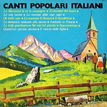 CANTI POPOLARI ITALIANI