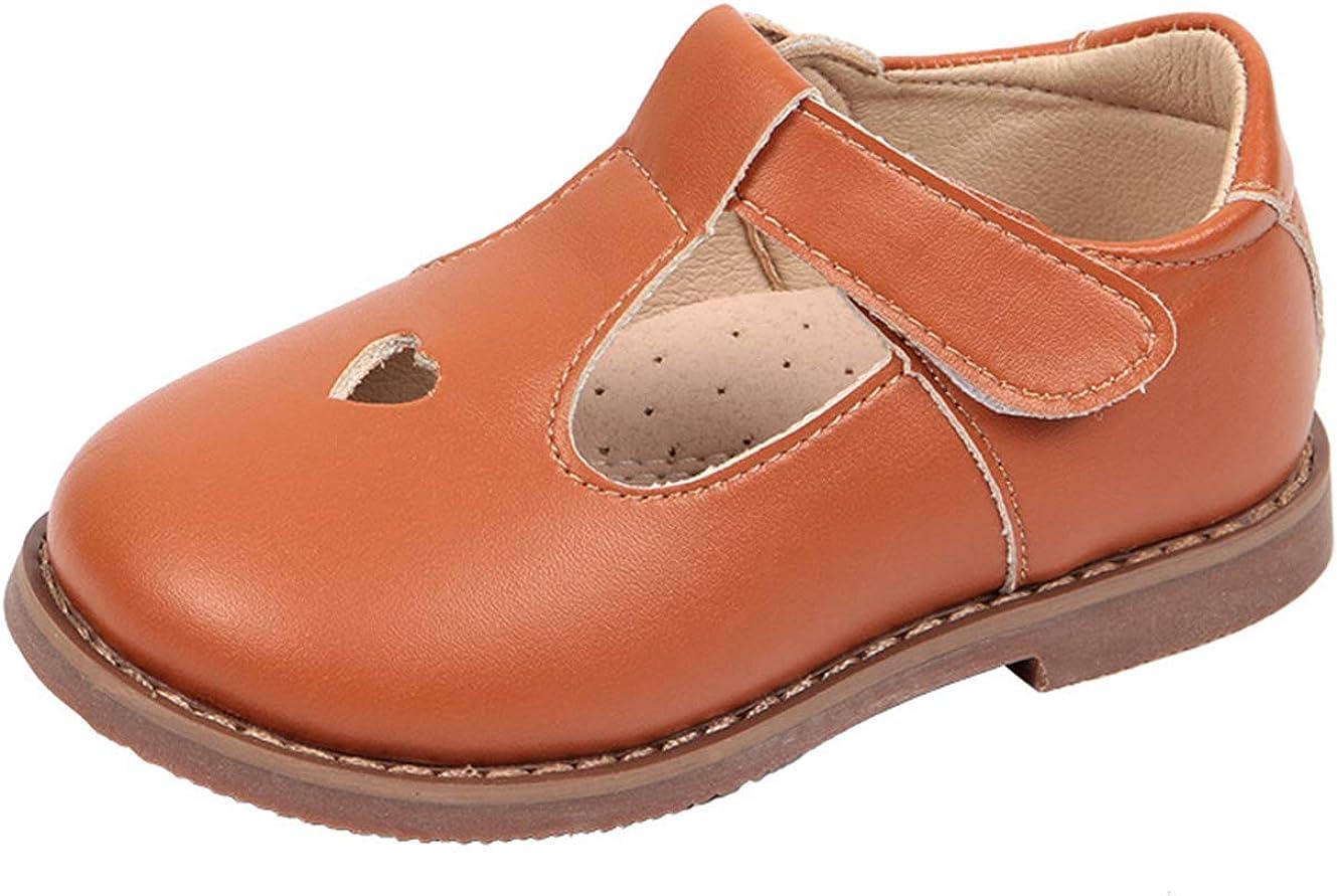 Lnafan Houston Mall quality assurance Girls' Cute T-Strap Oxfords Mary Shoes Jane Flat Princess