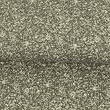 Baumwolljersey marmoriert grau Modestoffe Kinderstoffe