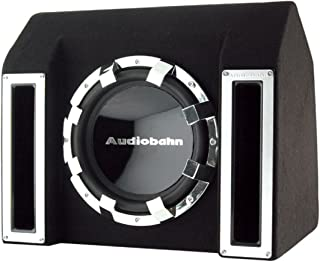 Audiobahn ABB121J 400W RMS, Single 12-Inch Slot Ported Loaded Subwoofer Enclosure