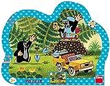 Dino Toys 311312 Little Mole - Puzzle con Marco, diseño de Paja