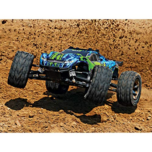 RC Auto kaufen Truggy Bild 3: Traxxas Rustler 4x4 VXL Brushless 1:10 RC Modellauto Elektro Truggy Allradantrieb (4WD) RTR 2,4 GHz*