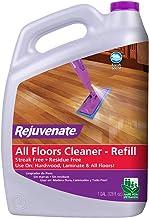 Rejuvenate High Performance All-Floors and Hardwood No Bucket Needed Floor Cleaner Powerful PH Balanced Shine with Shine B...