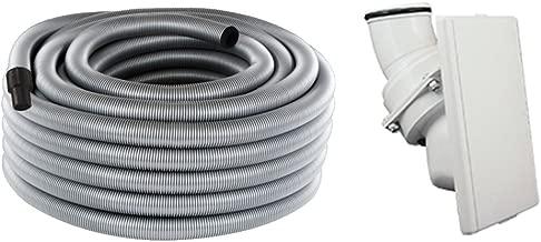 BVC EBS centrales Aspirateur Swivel 9,0 m tuyau-Set 5 pièces