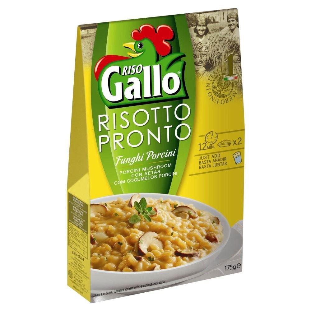 Riso Gallo Risotto Pronto Porcini Mushroom (175g) - Pack of 6