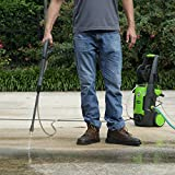 Greenworks 1700 PSI 13 Amp 1.2 GPM Pressure Washer with Hose Reel GPW1702