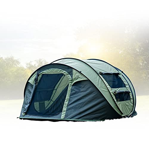 FiveJoy Instant Popup Camping Tent (1-3 Person) - NO Assembly Required -
