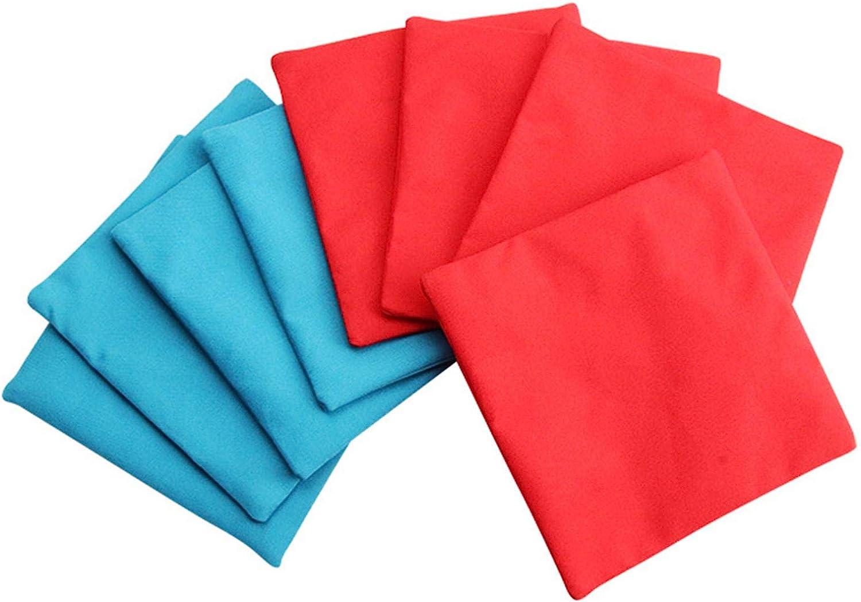shopping LUFOAM Cheap super special price 8PCS Cornhole Bean Bags Outdoor Game Throwing 10x10cm U