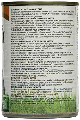 YARRAH Bio Katzenfutter Pate mit Huhn 400 g, 12er Pack (12 x 400 g) - 2