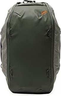 Travel Duffelpack Bag 65L Sage - Bolsa de viaje con correas