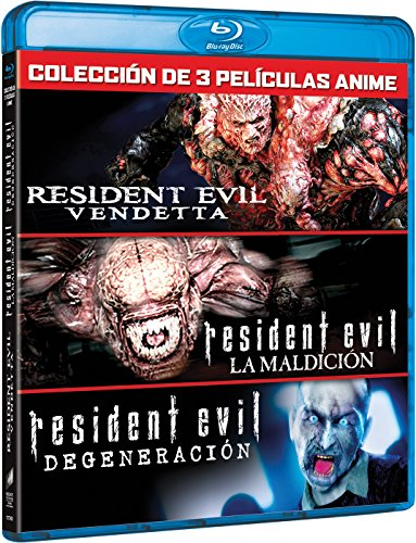 Pack Resident Evil: Vendetta (3 Peliculas) [Blu-ray]