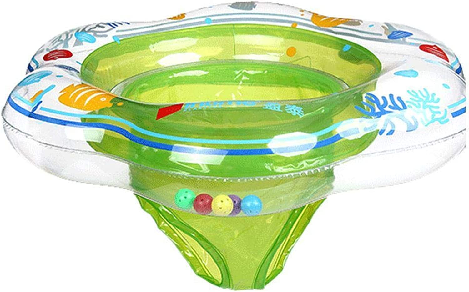 DREZZED Creative Swimming Pants Style Baby Floating Inflatable Swimming Seat Ring Baby Floats