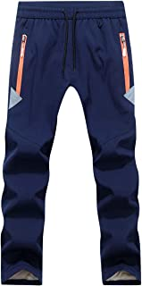 Pantalon Randonn/ée Doubl/é Polaire Enfant CAMLAKEE Pantalon Softshell Gar/çon Fille