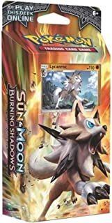 Pokemon Sun & Moon Burning Shadows Theme Deck- Lycanroc