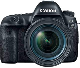 Canon EOS 5D Mark IV 24-70mm f/4L Lens - 30.4MP, DSLR Camera, Black
