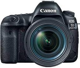 Canon EOS 5D Mark IV 30.4 MP Digital SLR Camera (Black) with EF 24-70mm is USM Lens Kit