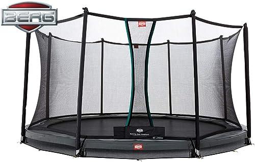 BERG Inground Champion 380121,5m + Filet de sécurité Confort