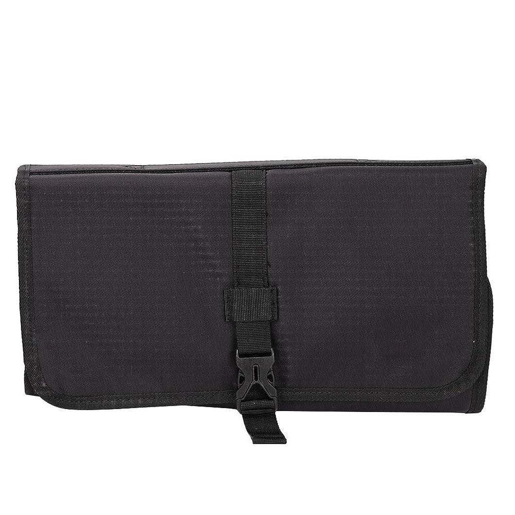 前置詞パンチ調べるポータブル美容院ヘアスタイリングツールバッグ