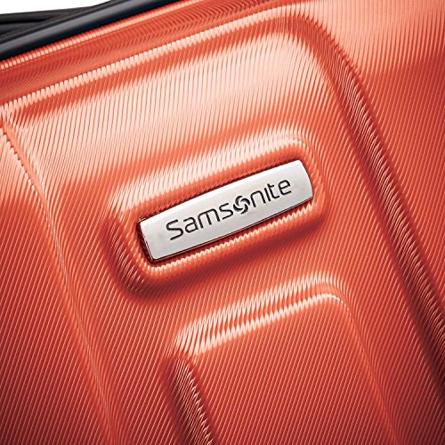 Samsonite Centric Hardside Expandable Luggage with Spinner Wheels, Burnt Orange