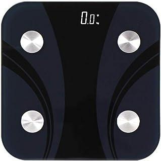 Báscula De Grasa Corporal Bluetooth Básculas De Baño Inteligentes Digitales Miden El Peso Porcentaje De Grasa Corporal Agua Corporal