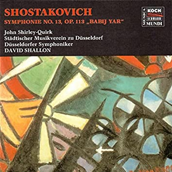 """Shostakovich: Symphony No. 13 """"Babij Jar"""""""