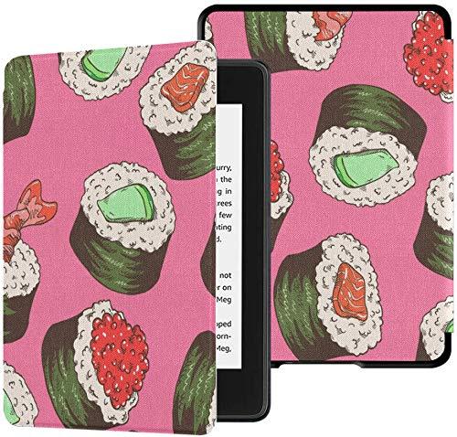 Schutzhülle für Kindle Paperwhite (10. Generation 2018), wasserfest, Muster Sushi Tablet