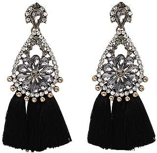 Fashion Noeud Coeur Love Rose Émail Ear Stud Boucles d/'oreilles Bijoux Jian