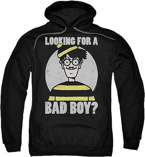Wheres Waldo - - Sweat à Capuche Bad Boy pour Homme