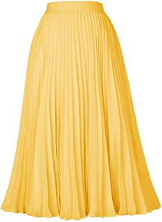 52df6d58cb Amazon.ca: Yellow - Skirts / Women: Clothing & Accessories