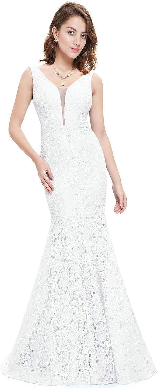 Evening&Tonas Lace Mermaid Wedding Dresses Simple Elegant Wedding Gowns for Bride Dress