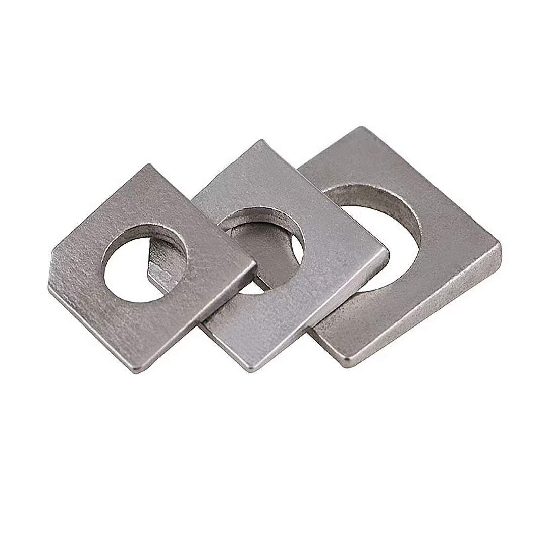 Dreneco 5pcs Popular brand in the world M6 Square Max 71% OFF Washers Heavy Squar Duty Stainless Steel