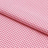 Hans-Textil-Shop Stoff Meterware Vichy Karo 2x2 mm Rosa