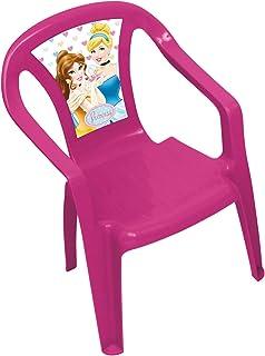 ARDITEX WD7970 - Silla de plástico Monoblock, diseño Princesas Disney
